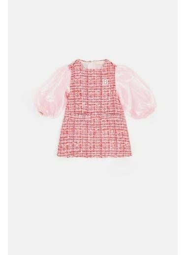 BG Baby Kız Bebek Desenli Elbise 20Fw0Bg2911 Renkli